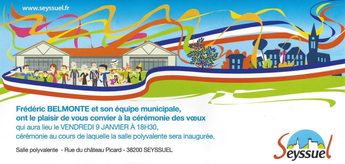 Voeux Du Maire Inauguration De La Salle Polyvalente Le 9 Janvier