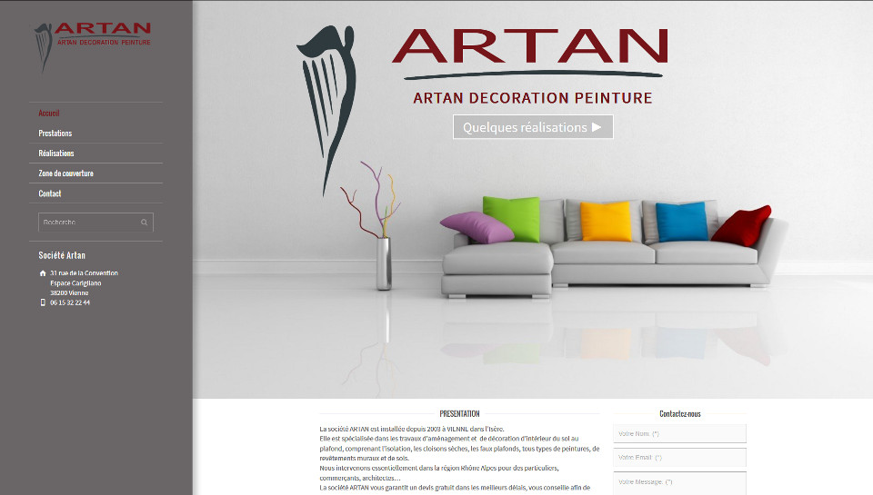 Artan décoration peinture à Vienne 38