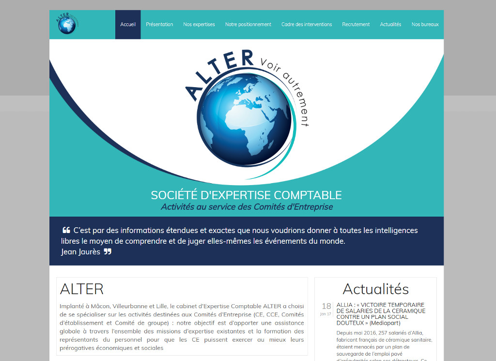 Site Alter expertises comptable
