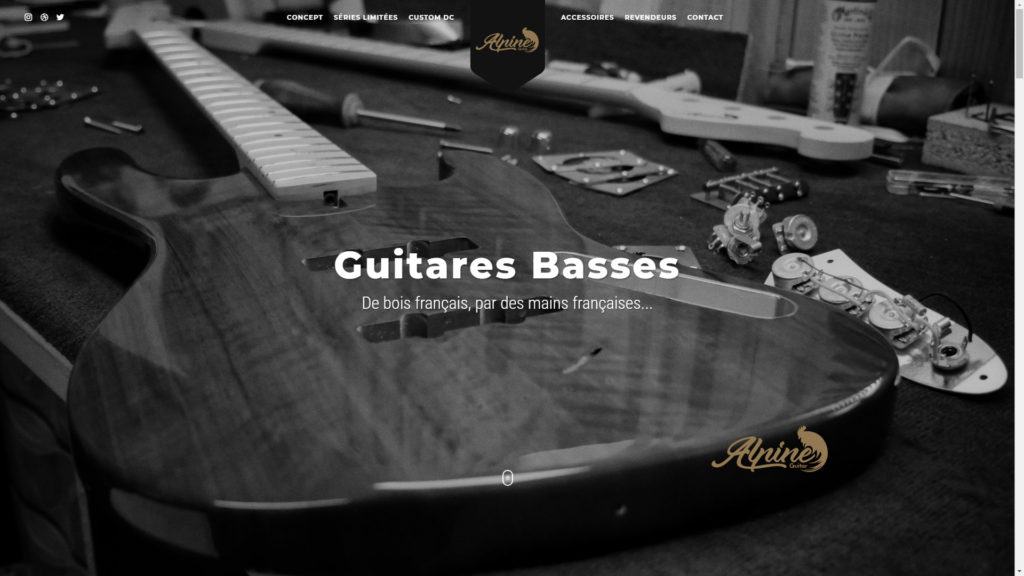 Alpine Guitar guitares basses