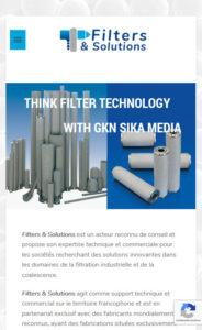 filters et solutions flltres inox et bronze, devesiculeurs